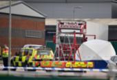 Polícia encontra 39 corpos em caminhão no Reino Unido | Foto: Ben Stansall | AFP