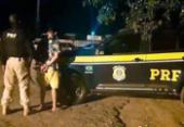 Suspeito de cometer homicídio em São Paulo é preso na Bahia | Foto: Divulgação | PRF
