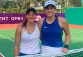 Luisa Stefani e americana vencem e avançam à semifinal das duplas em Luxemburgo | Foto: