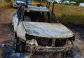 Quatro corpos carbonizados são encontrados em veículo próximo a BR-116 | Foto: Divulgação | Polícia Militar