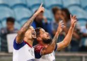 Bahia finda tabu contra o Grêmio e volta a colar no G-6 | Reprodução | Twitter | @Brasileirao
