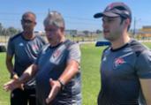 Geninho foca em finalizações para jogo desta terça | Divulgação | EC Vitória
