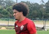 Com Gedoz em campo, Vitória treina no CT do Avaí | Divulgação | EC Vitória