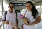 Estações viram pontos de entrega de produtos | Joá Souza | Ag. A TARDE
