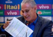 Tite convocará seleção para amistosos nesta sexta | Mauro Pimentel | AFP
