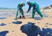 Mais 200 quilos de petróleo são retirados das praias | Shirley Stolze | Ag A TARDE