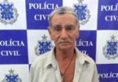 Idoso é preso após atear fogo em casal | Divulgação | Polícia Civil