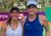 Luisa Stefani e americana avançam à semifinal de duplas | Divulgação