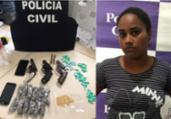 Polícia desarticula ponto de tráfico no interior | Divulgação/SSP