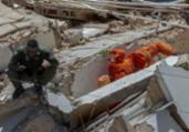 Bombeiros confirmam 5ª morte em desabamento no Ceará | Rodrigo Patrocínio | AFP