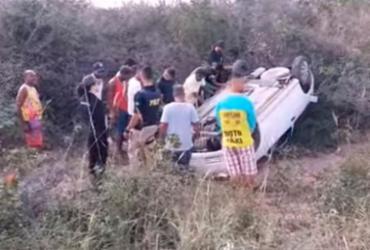 Homem morre e esposa fica ferida em capotamento na BR-410 | Reprodução | Calila Notícias