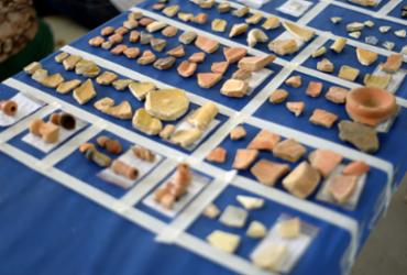 Mais de seis mil artefatos históricos são encontrados em solo da avenida Sete de Setembro | Jefferson Peixoto | Secom