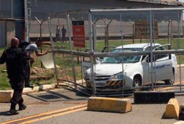 Assalto a empresa de valores causa caos em Viracopos; 3 suspeitos são mortos | Reprodução