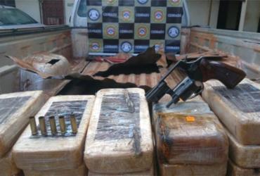 Mais de 80 kg de pasta base de cocaína com imagem de El Chapo são apreendidos | Divulgação | SSP-BA