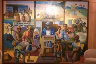 Obra de Jenner Augusto da Silveira é restaurada e exposta na Casa Cor Bahia | Valter Andrade