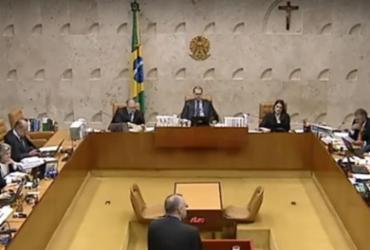 Acompanhe ao vivo o julgamento do STF sobre condenação em 2ª instância | Reprodução