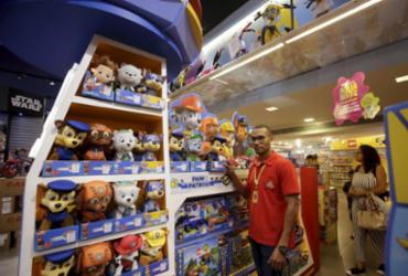 Dia das Crianças: comércio baiano espera crescer entre 3 e 5% na data | Adilton Venegeroles | Ag. A TARDE | 17.9.2019