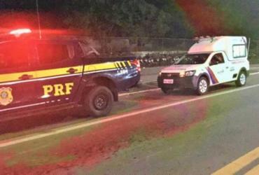 Homem com CNH falsa é flagrado dirigindo ambulância | Divulgação | PRF