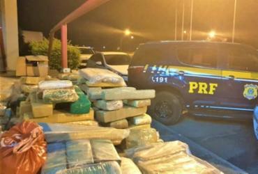 Polícia apreende 200 kg de maconha em Vitória da Conquista | Divulgação | PRF