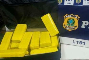 Homem é preso com 28 kg de drogas em ônibus de viagem | Divulgação | SSP-BA