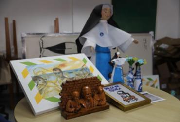 Quantidade de itens doado ao acervo aumenta após canonização | Uendel Galter | Ag. A TARDE