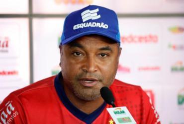 Roger comenta má fase de Gilberto e não crava substituto de Élber | Felipe Oliveira | EC Bahia