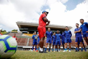 Bahia retorna às atividades com treino fechado em Pituaçu | Felipe Oliveira | EC Bahia