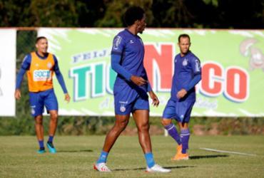 Roger confirma ausência de Moisés contra o Internacional | Felipe Oliveira | EC Bahia