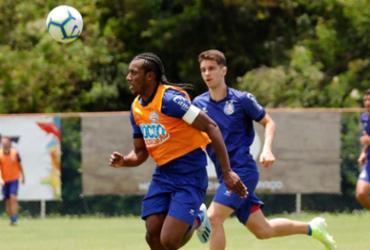 Bahia faz treino técnico e recreativo no Fazendão | Felipe Oliveira | EC Bahia