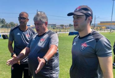 Em Santa Catarina, Geninho foca nas finalizações para duelo contra o Criciúma | Divulgação | EC Vitória