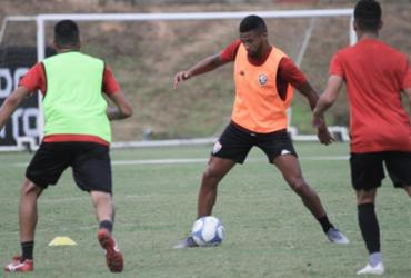 Vitória faz últimos ajustes antes de enfrentar o Sport | Letícia Martins | EC Vitória