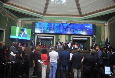 Ao menos 12 vereadores podem mudar de partido na CMS | Felipe Iruatã | Ag. A Tarde
