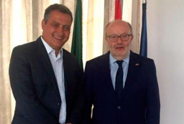 Rui se reúne com embaixador espanhol para discutir agenda do Consórcio do NE | Divulgação