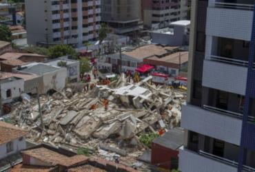 Governo do Ceará diz que não há confirmação de morte em desabamento de prédio   Rodrigo Patrocínio   AFP