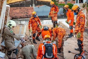 Bombeiros confirmam sétima morte em desabamento em Fortaleza | Divulgação | Divulgação Secretaria da Segurança Pública e Defesa Social do Ceará