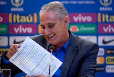 Tite convocará seleção para amistosos de novembro na sexta-feira   Mauro Pimentel   AFP