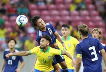 Seleção olímpica perde amistoso para o Japão de virada na Arena Pernambuco | Marlon Costa Lisboa | CBF