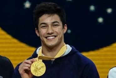 Arthur Nory escreve seu nome na ginástica brasileira com ouro em Stuttgart | Lionel Bonaventure | AFP