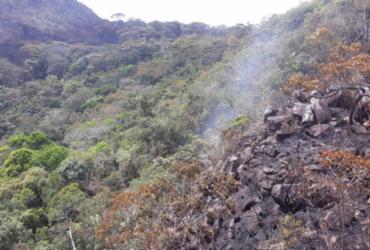 Incêndio que atingiu Chapada Diamantina está controlado | Divulgação | CBMBA
