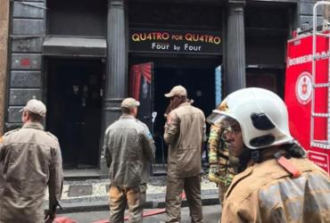 Bombeiros voltam a prédio de boate no Rio por provável novo foco de incêndio | Reprodução
