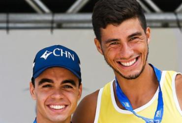 Dupla do Brasil vence no vôlei de praia dos Jogos Militares   Divulgação   FIVB
