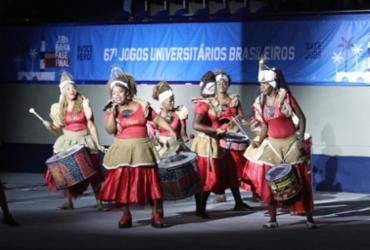 Cerimônia abre oficialmente os Jogos Universitários Brasileiros da Bahia | Felipe Iruatã | Ag. A TARDE