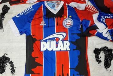 Bahia usará camisas manchadas de óleo em jogo desta segunda | Divulgação