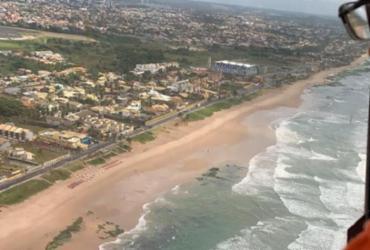 Limpurb recolhe mais 15 quilos de petróleo na Praia do Flamengo | Divulgação | Secom