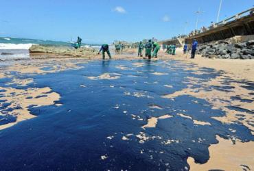 Novas manchas de óleo não chegam a Salvador desde a sexta, diz prefeitura | Shirley Stolze | Ag. A TARDE