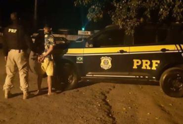 Foragido por homicídio é preso durante fiscalização da Polícia Federal | Divulgação | Polícia Federal