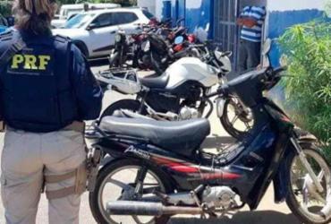 Idoso é detido com ciclomotor roubado em Simões Filho | Divulgação | PRF