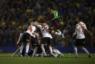 River Plate perde do Boca na Bombonera, mas vai à final da Libertadores | Juan Mabromata | AFP