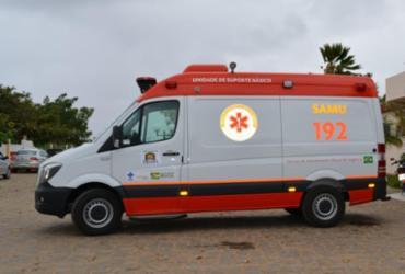 Município de Canudos recebe mais uma ambulância do SAMU