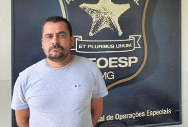 Suspeito de liderar grupo criminoso em Itabuna é preso em Belo Horizonte | Divulgação - SSP